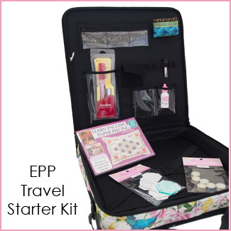 project travel case quilting sewing