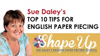 10 tips for english paper piecing