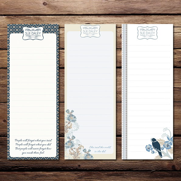 Forget Me Not Shopping Lists