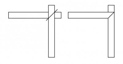 Mitred Border Diagram