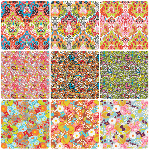 bittersweet fabric range