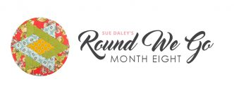 Round We Go Month 8 Banner