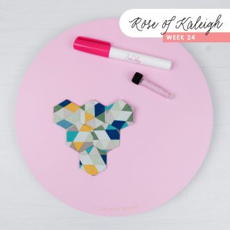 Rose of Kaleigh Sew Along