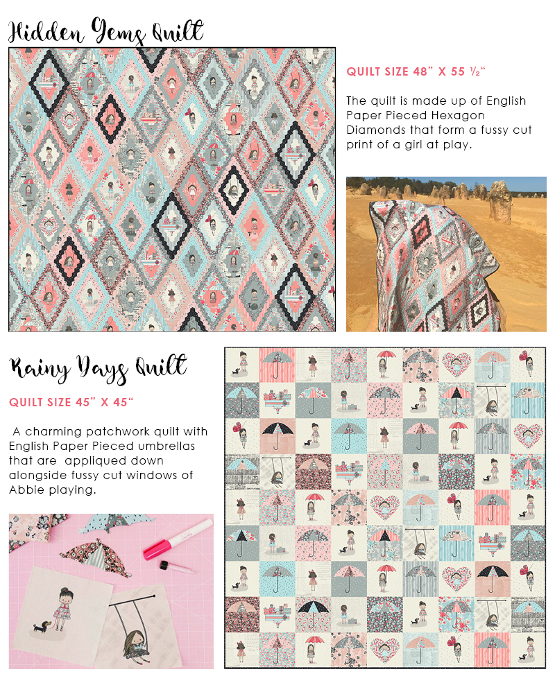 Hidden Gems & Rainy Days Quilts