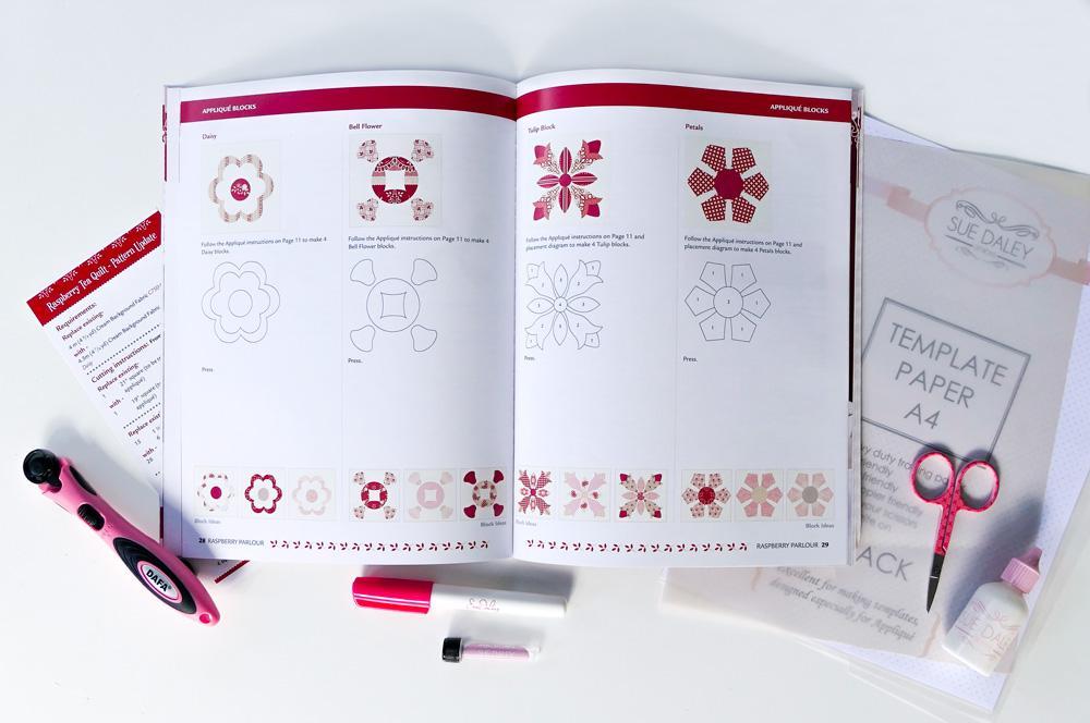Raspberry Parlor Book